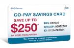 CoPay savings card